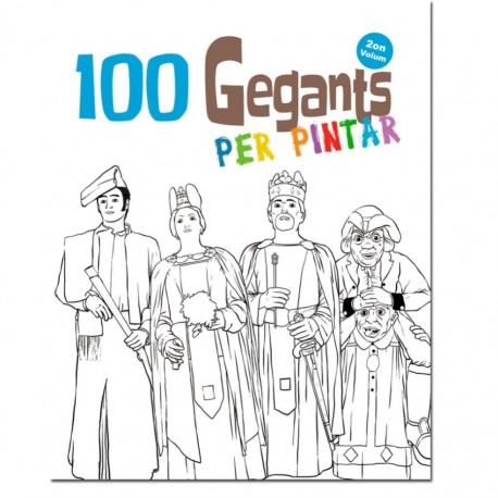 Llibre 100 Gegants per pintar (2on volum)