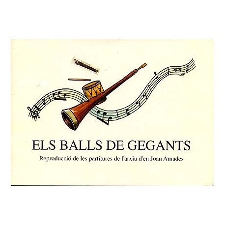 Els Ball de Gegants. Partitures