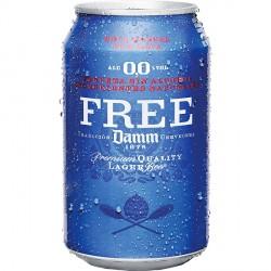 Free Damm - Pac 24 llaunes