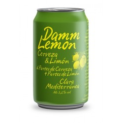Damm Lemon - Pack 24 llaunes