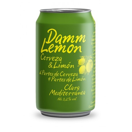 Damm Lemon - Pac 24 llaunes